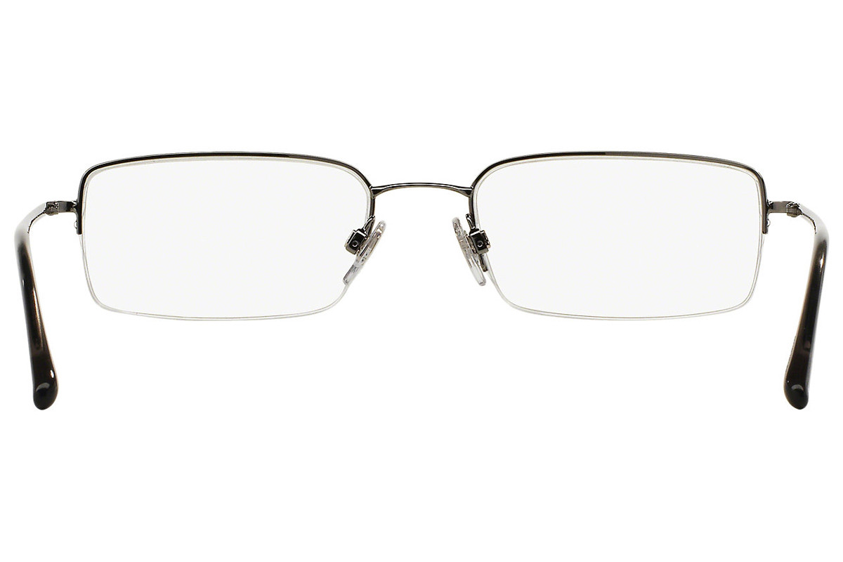 Burberry BE1068 1003. Frame color: Silver, Lens color: Crystal, Frame shape: Rectangular
