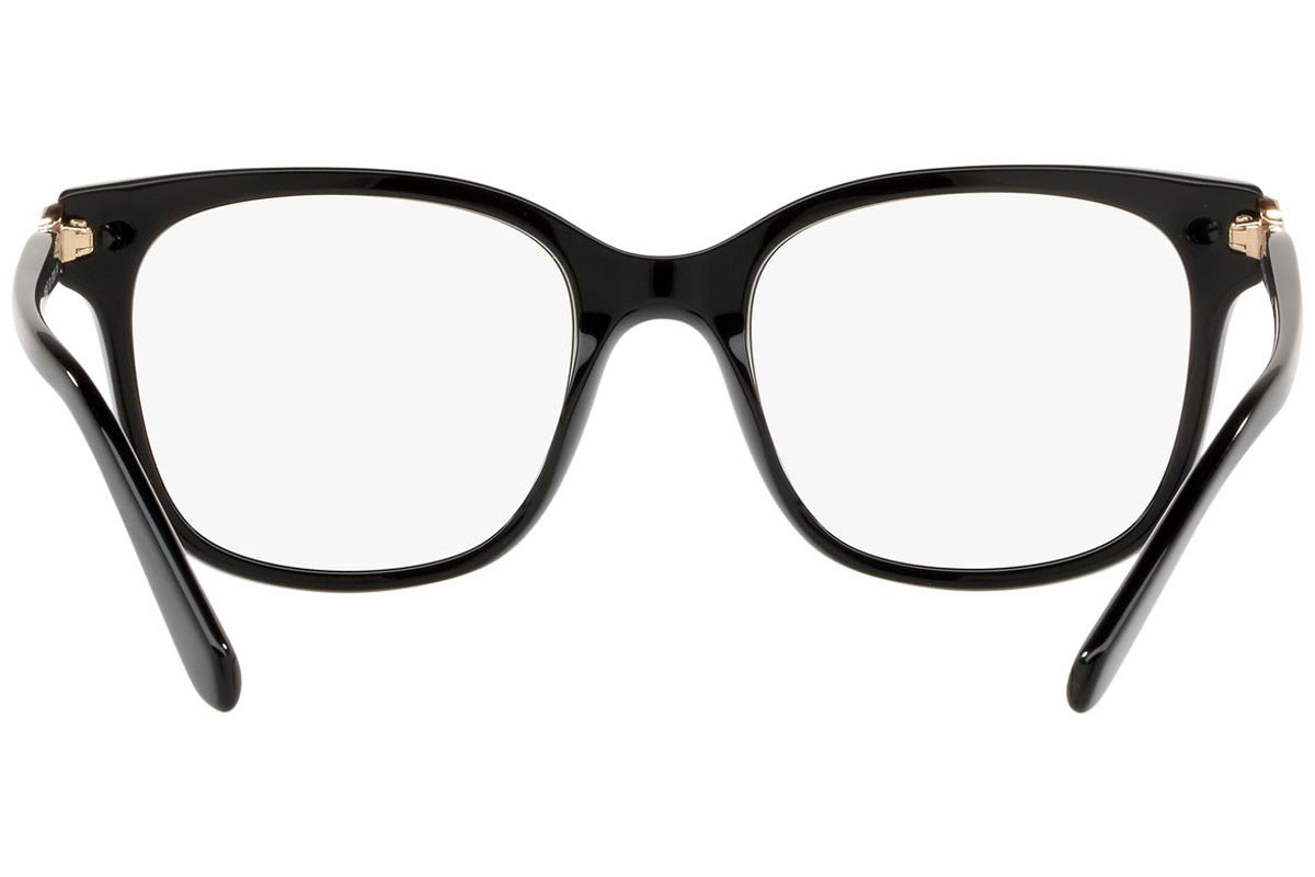 Bvlgari BV4158B 501. Frame color: Black, Lens color: Crystal, Frame shape: Squared