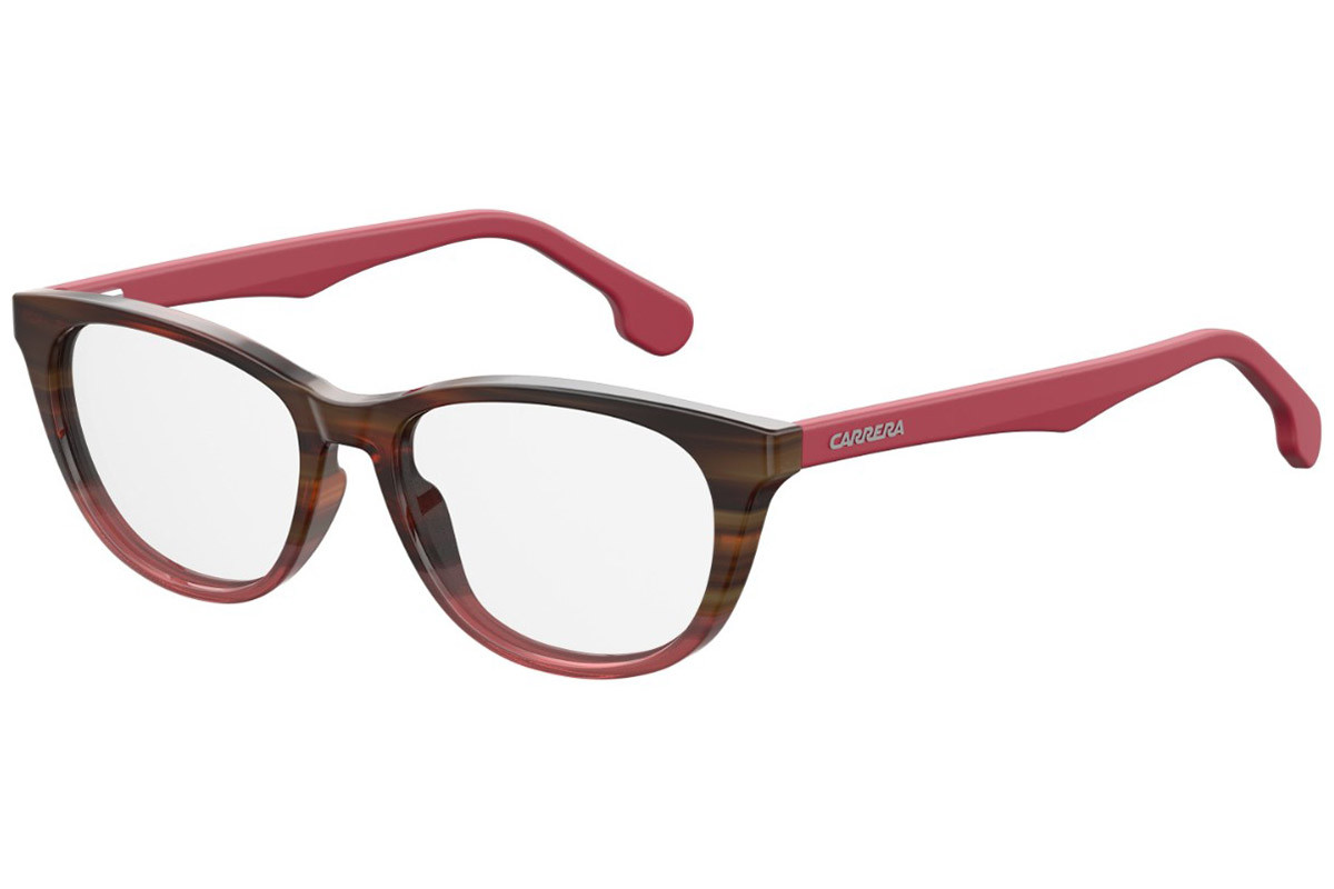 Carrera CARRERA5547/V 0T4. Frame color: Brown, Lens color: Crystal, Frame shape: Cat Eye