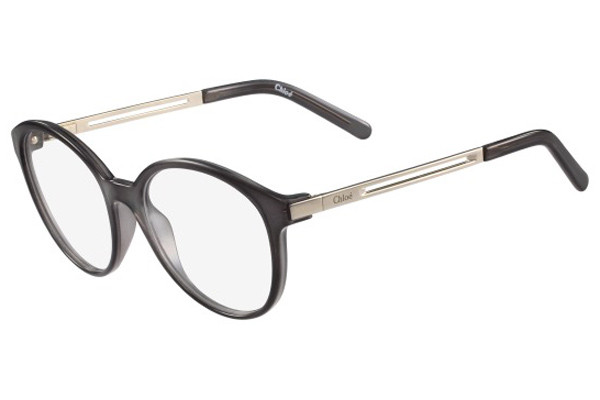 Chloe CE2693 036. Frame color: Grey, Lens color: Crystal, Frame shape: Cat Eye