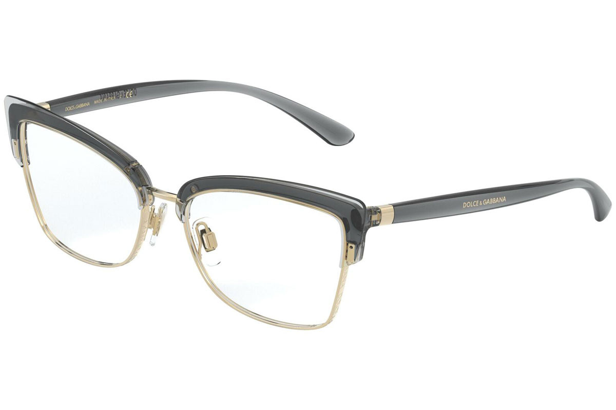 Dolce & Gabbana DG5045 3160. Frame color: Grau, Lens color: Kristall, Frame shape: Cat Eye