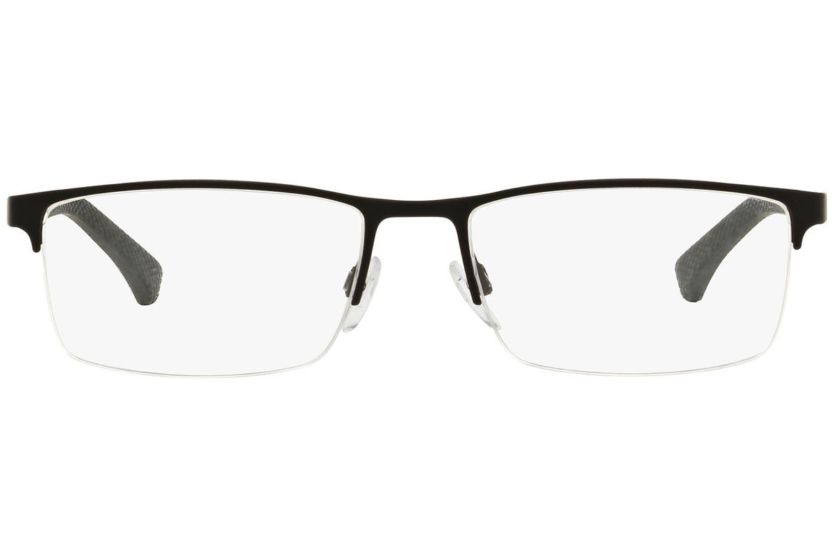 Emporio Armani EA1041 3094. Frame color: Black, Lens color: Crystal, Frame shape: Rectangular