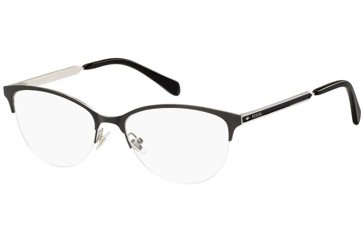 Fossil FOS7011 003. Frame color: Black, Lens color: Crystal, Frame shape: Cat Eye