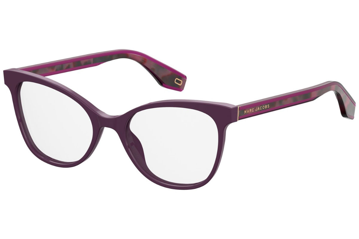 Marc Jacobs MARC284 0T7. Frame color: Vijolična, Lens color: Kristalna, Frame shape: Cat Eye