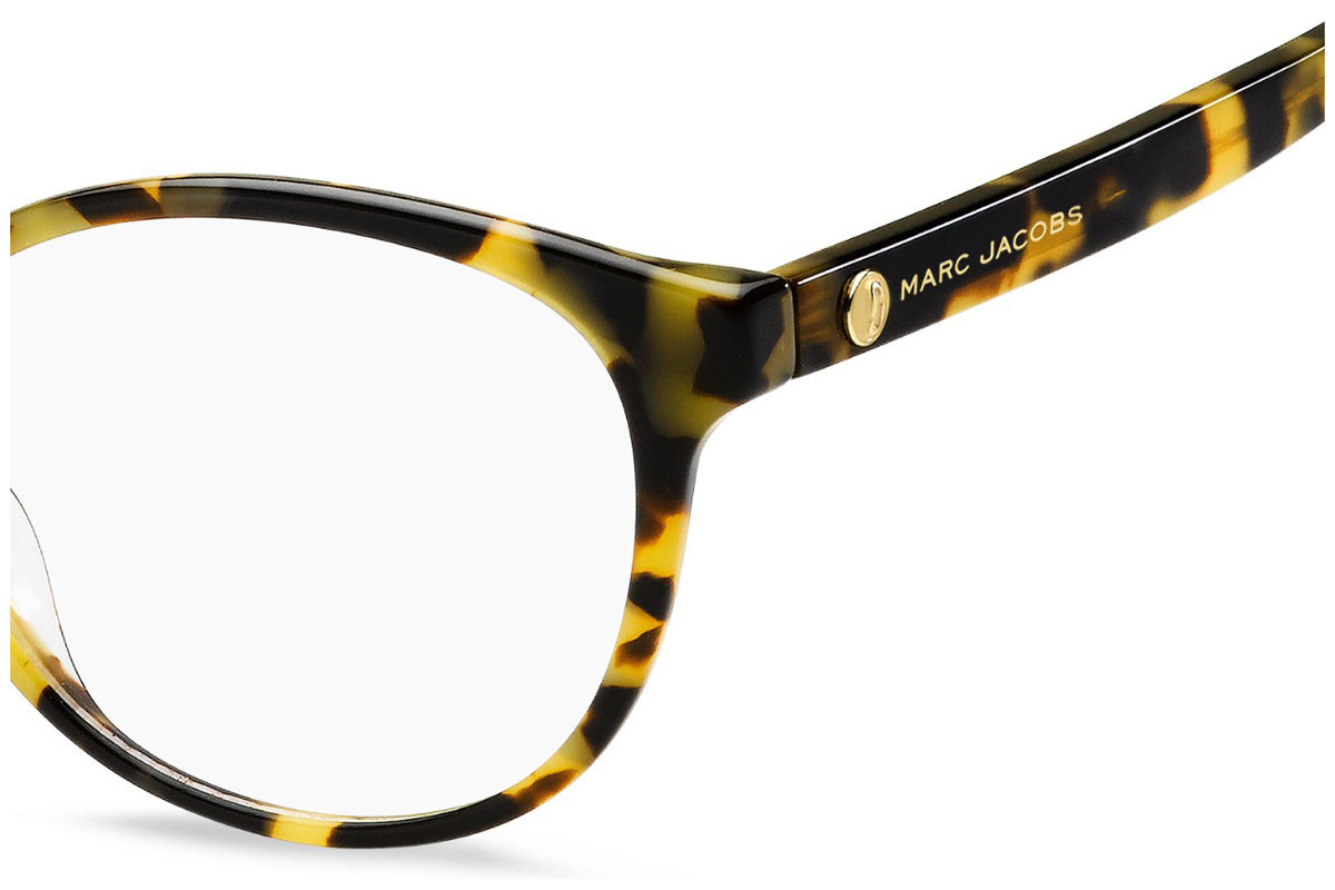 Marc Jacobs MARC381 C9B. Frame color: Havana, Lens color: Crystal, Frame shape: Round