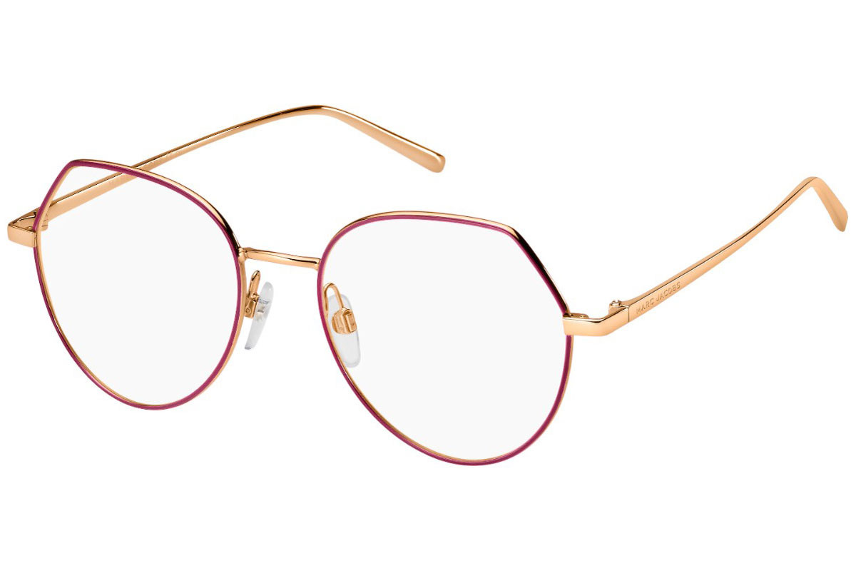 Marc Jacobs MARC475 BSL. Frame color: Gold, Lens color: Kristall, Frame shape: Rund
