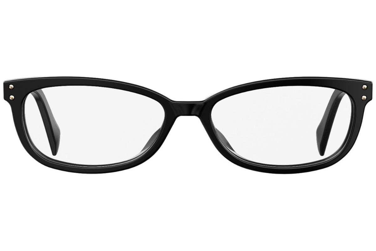 Moschino MOS536 807. Frame color: Black, Lens color: Crystal, Frame shape: Tiny