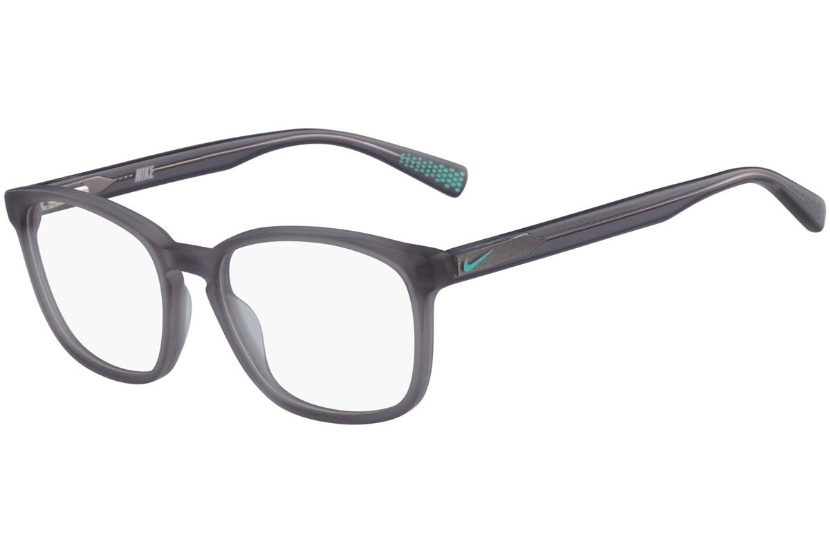 Nike 5 016 260. Frame color: Grau, Lens color: Kristall, Frame shape: Quadratisch