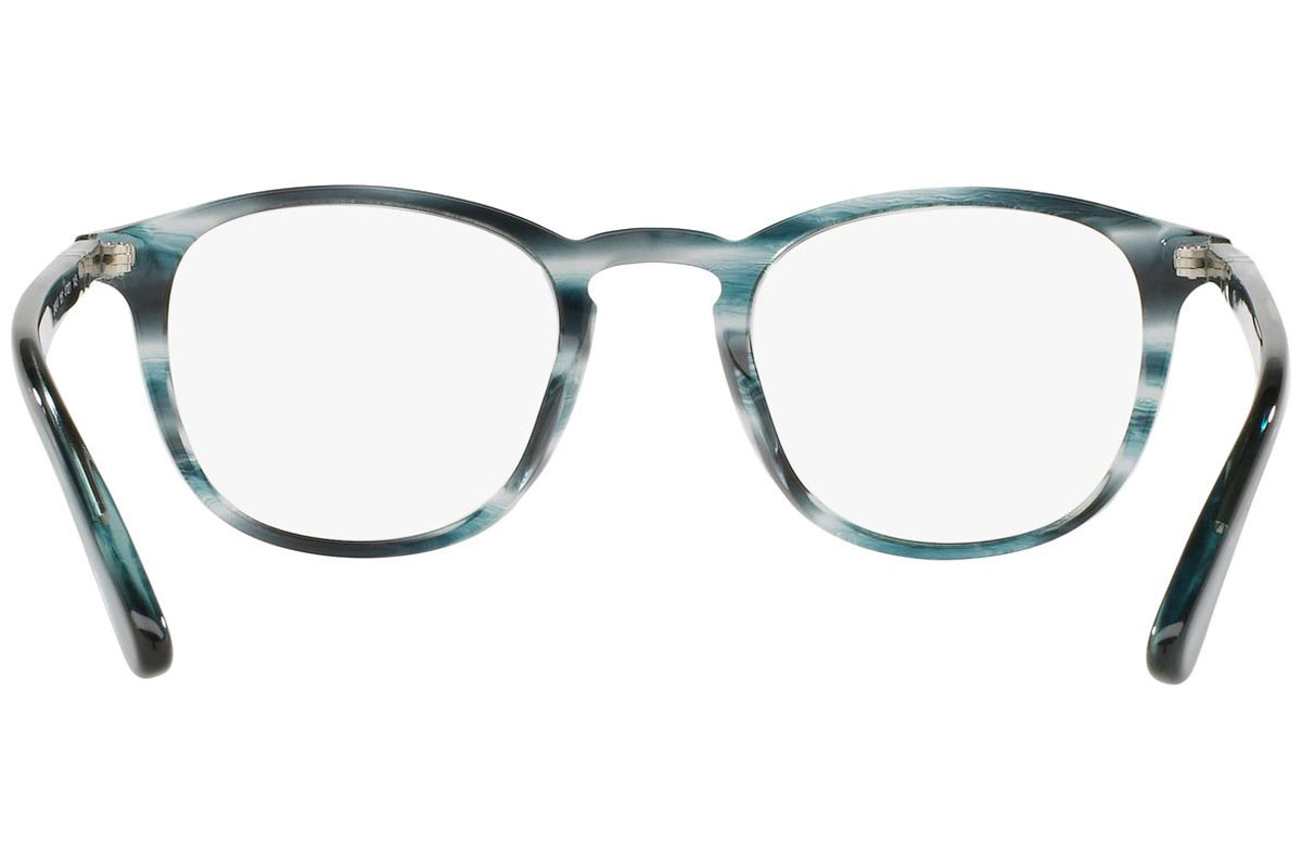 Persol Galleria '900 Collection PO3143V 1051. Frame color: Sivi, Lens color: Kristalni, Frame shape: Kvadratni