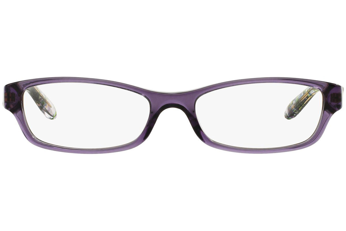 Ralph by Ralph Lauren RA7040 1070. Frame color: Purple, Lens color: Crystal, Frame shape: Tiny