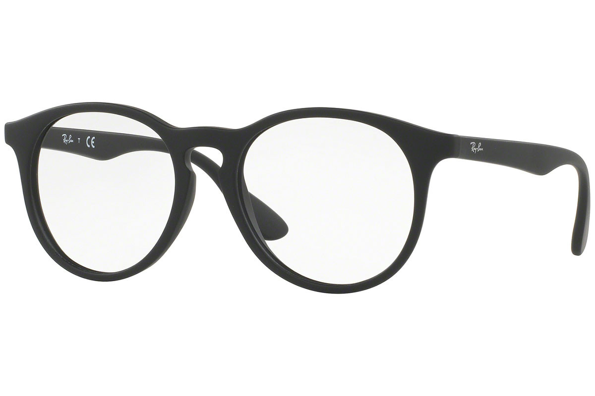 Ray-Ban Junior RY1554 3615. Frame color: Black, Lens color: Crystal, Frame shape: Round