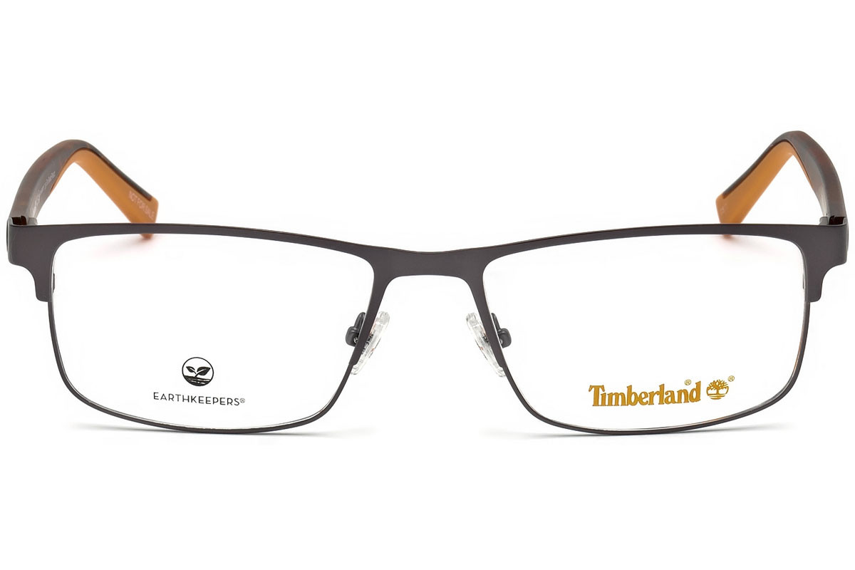 Timberland TB1594 020. Frame color: Grey, Lens color: Crystal, Frame shape: Rectangular