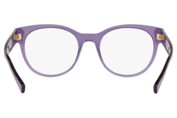 Versace VE3268 5160. Frame color: Purple, Lens color: Crystal, Frame shape: Squared
