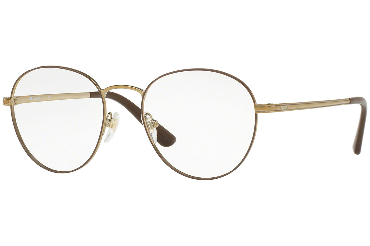 Vogue Light and Shine Collection VO4024 5021. Frame color: Braun, Lens color: Kristall, Frame shape: Rund