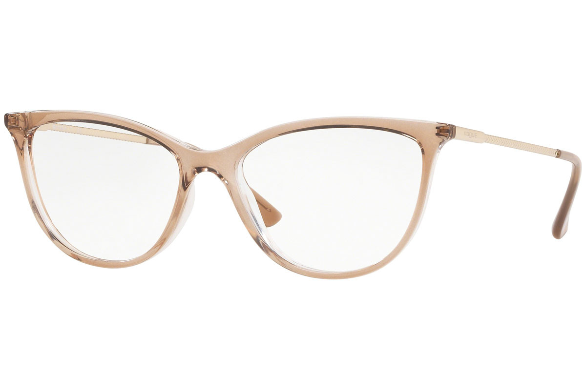 Vogue Color Rush Collection VO5239 2735. Frame color: Braun, Lens color: Kristall, Frame shape: Cat Eye