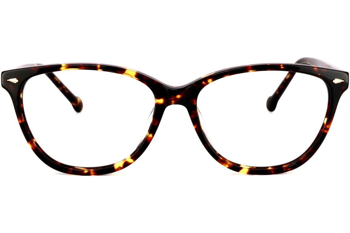 eyerim collection morph Patricia C5. Frame color: Havana, Lens color: Crystal, Frame shape: Squared