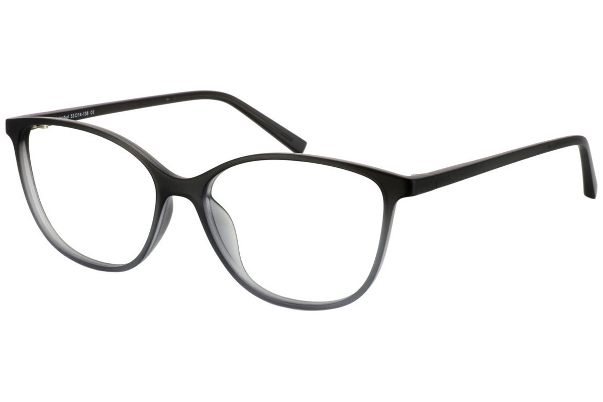 eyerim collection Suzy Grey. Frame color: Grau, Lens color: Kristall, Frame shape: Quadratisch