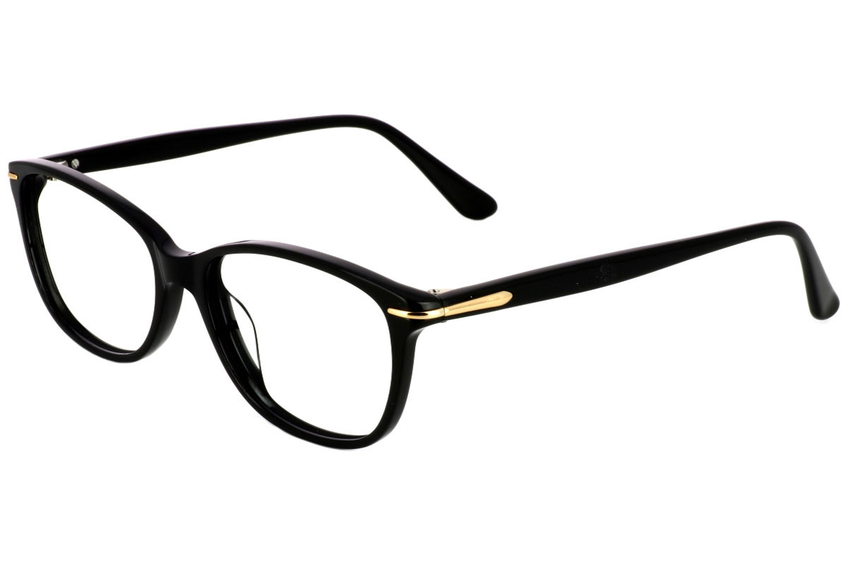 eyerim collection Claudia 1. Frame color: Crni, Lens color: Kristalni, Frame shape: Kvadratni