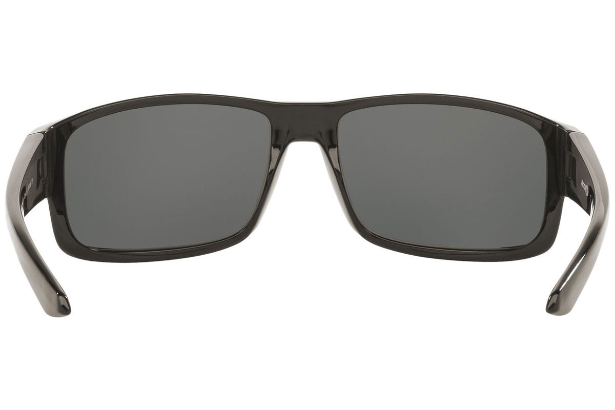 Arnette Boxcar AN4224 41/81 Polarized. Frame color: Black, Lens color: Grey, Frame shape: Rectangular