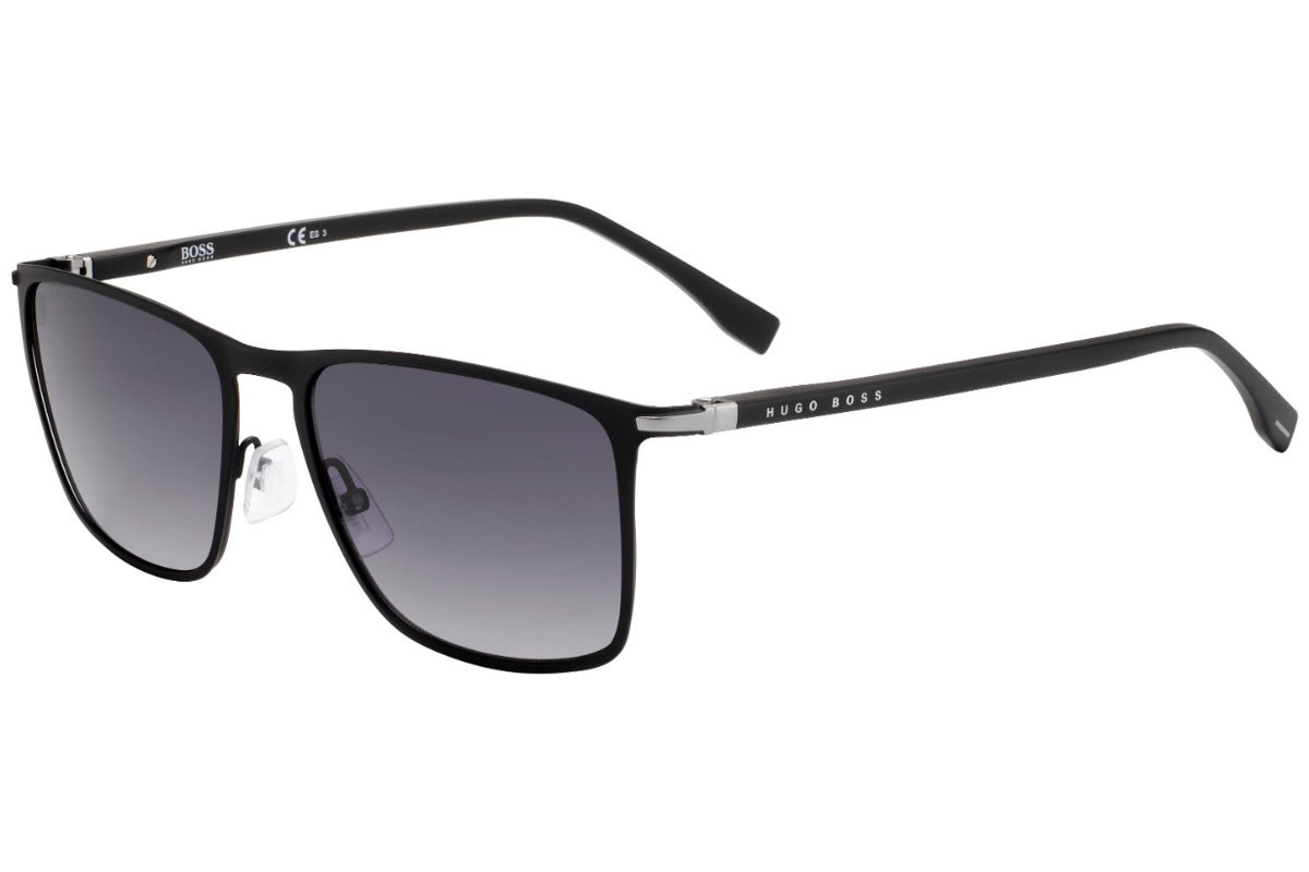 BOSS by Hugo Boss BOSS1004/S 003/9O. Frame color: Schwarz, Lens color: Grau, Frame shape: Rechteck