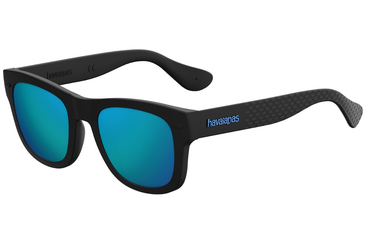Havaianas PARATY/M O9N/Z0. Frame color: Black, Lens color: Blue, Frame shape: Squared