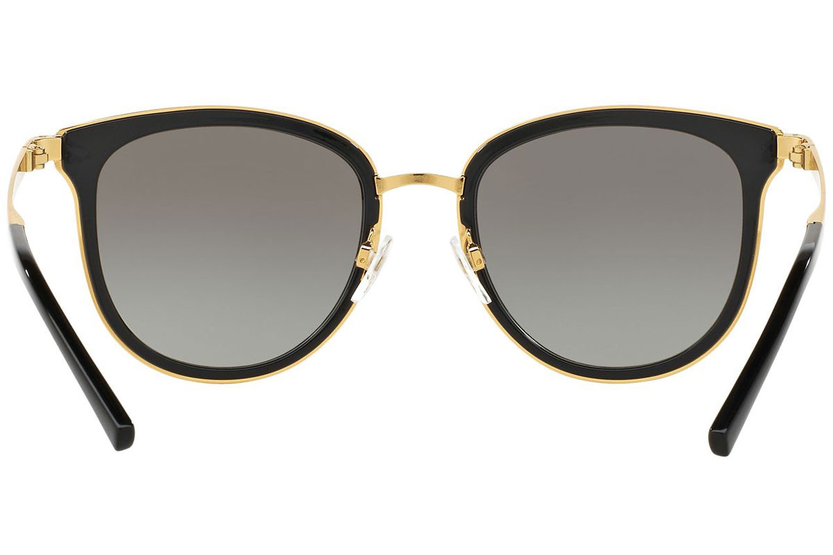 Michael Kors Adrianna I MK1010 110011. Frame color: Black, Lens color: Grey, Frame shape: Squared