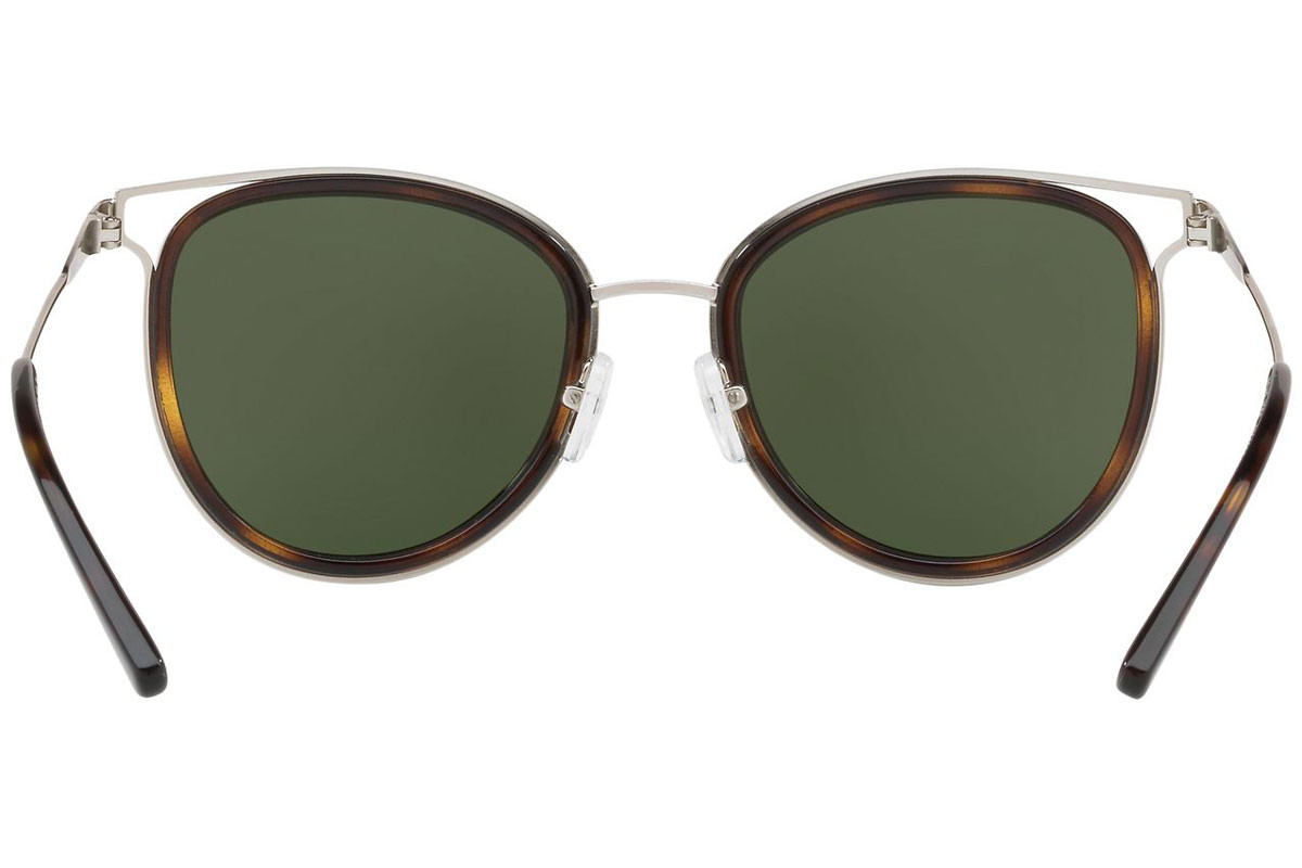 Michael Kors Havana MK1025 120071. Frame color: Havana, Lens color: Green, Frame shape: Round