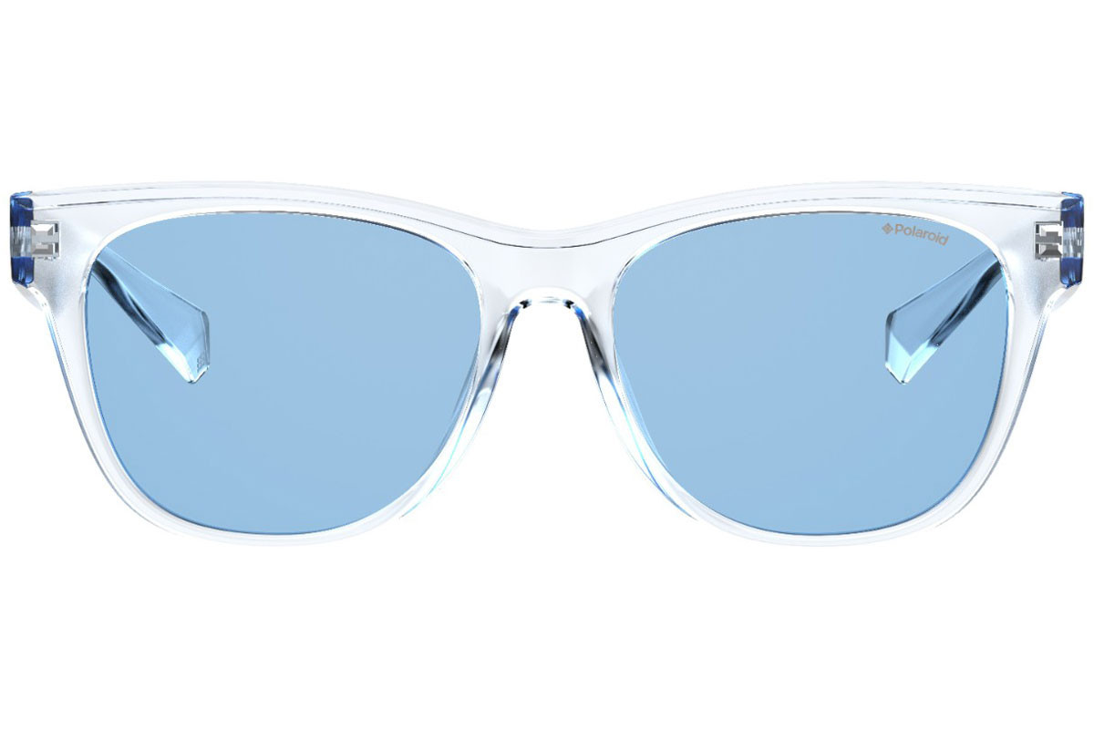 Polaroid PLD6053/F/S 900/C3 Polarized. Frame color: Crystal, Lens color: Blue, Frame shape: Squared