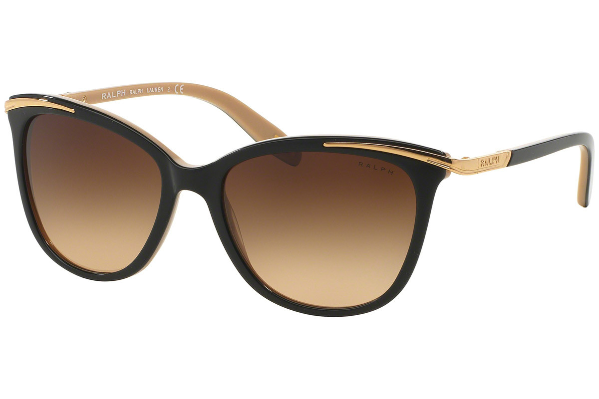 Ralph by Ralph Lauren RA5203 109013. Stelfarve: Sort, Linse Farve: Brun, Stel: Cat Eye