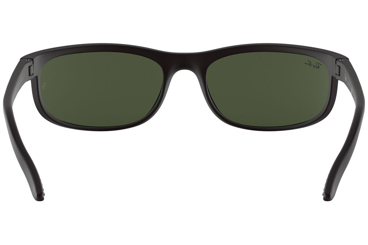 Ray-Ban Predator 2 RB2027 W1847. Frame color: Черна, Lens color: Зелена, Frame shape: Правоъгълни