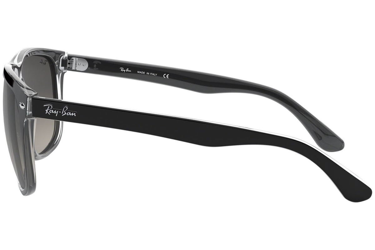 Ray-Ban RB4147 603971. Frame color: Черна, Lens color: Зелена, Frame shape: Квадратни