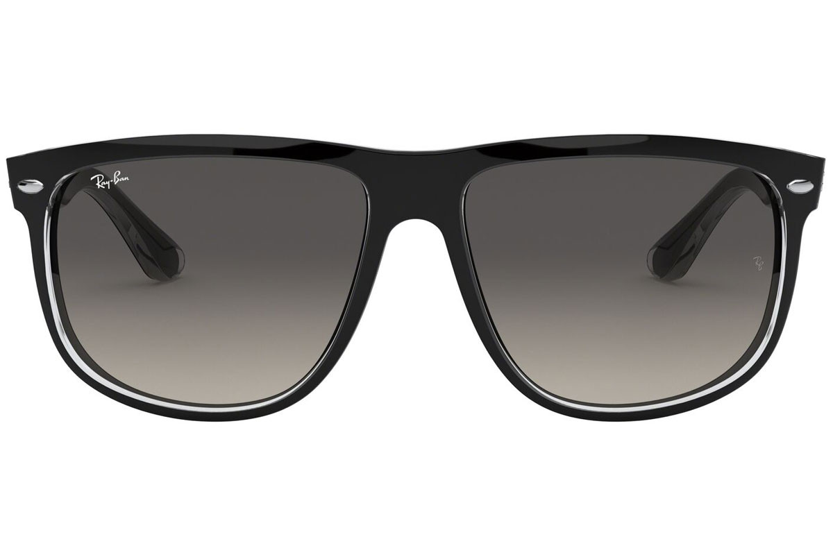 Ray-Ban RB4147 603971. Frame color: Črna, Lens color: Zelena, Frame shape: Kvadratna