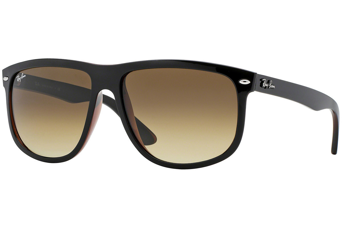 Ray-Ban RB4147 609585. Frame color: Crni, Lens color: Smeđi, Frame shape: Kvadratni