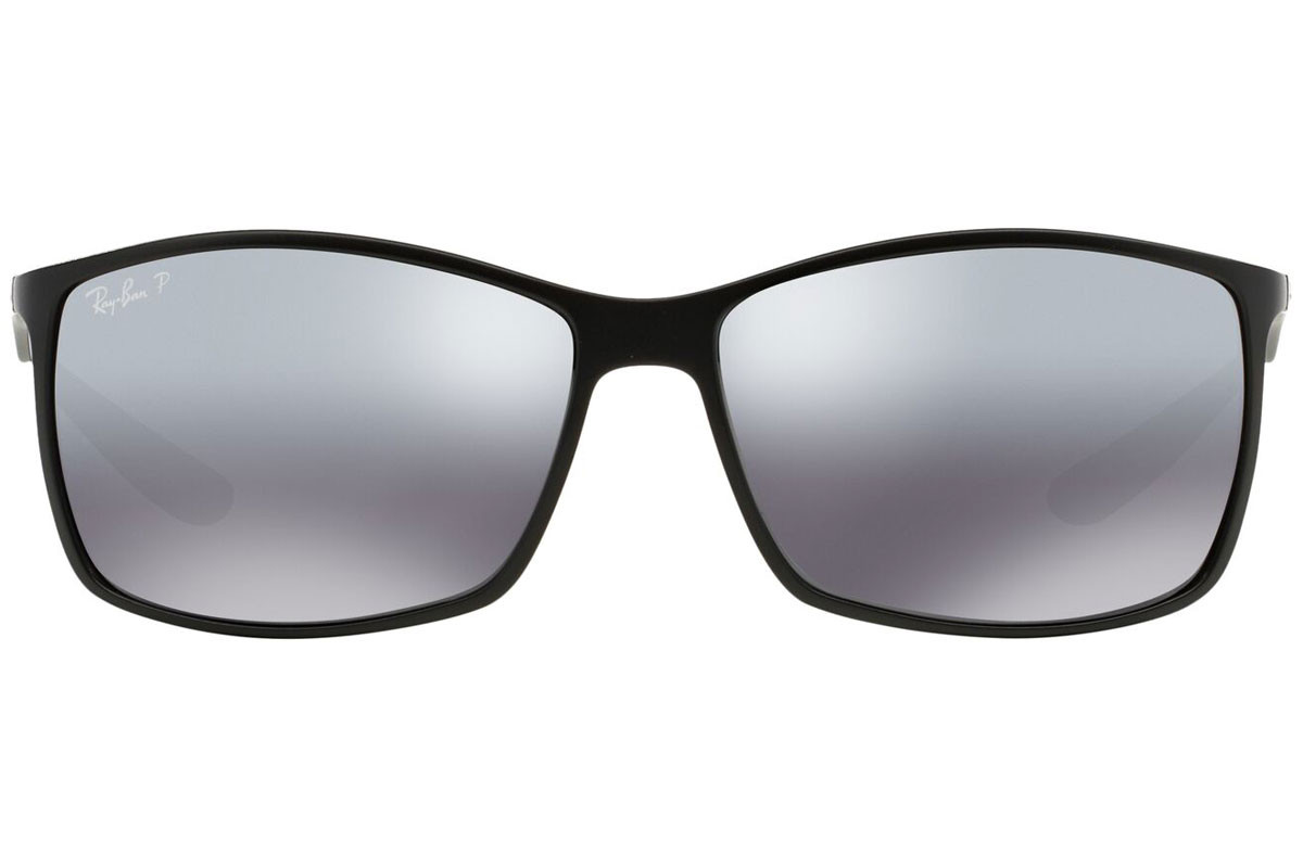Ray-Ban RB4179 601S82 Polarized. Frame color: Crni, Lens color: Sivi, Frame shape: Pravokutan