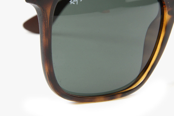 Ray-Ban Chris RB4187 710/71. Frame color: Havana, Lens color: Zeleni, Frame shape: Kvadratni