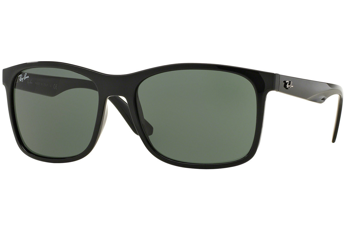 Ray-Ban RB4232 601/71. Frame color: Crni, Lens color: Sivi, Frame shape: Kvadratni