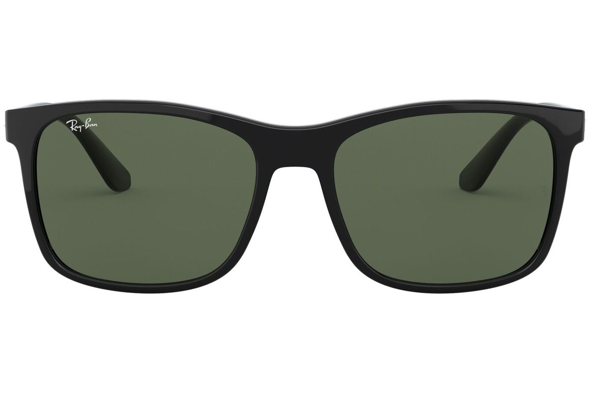 Ray-Ban RB4232 601/71. Frame color: Black, Lens color: Grey, Frame shape: Squared
