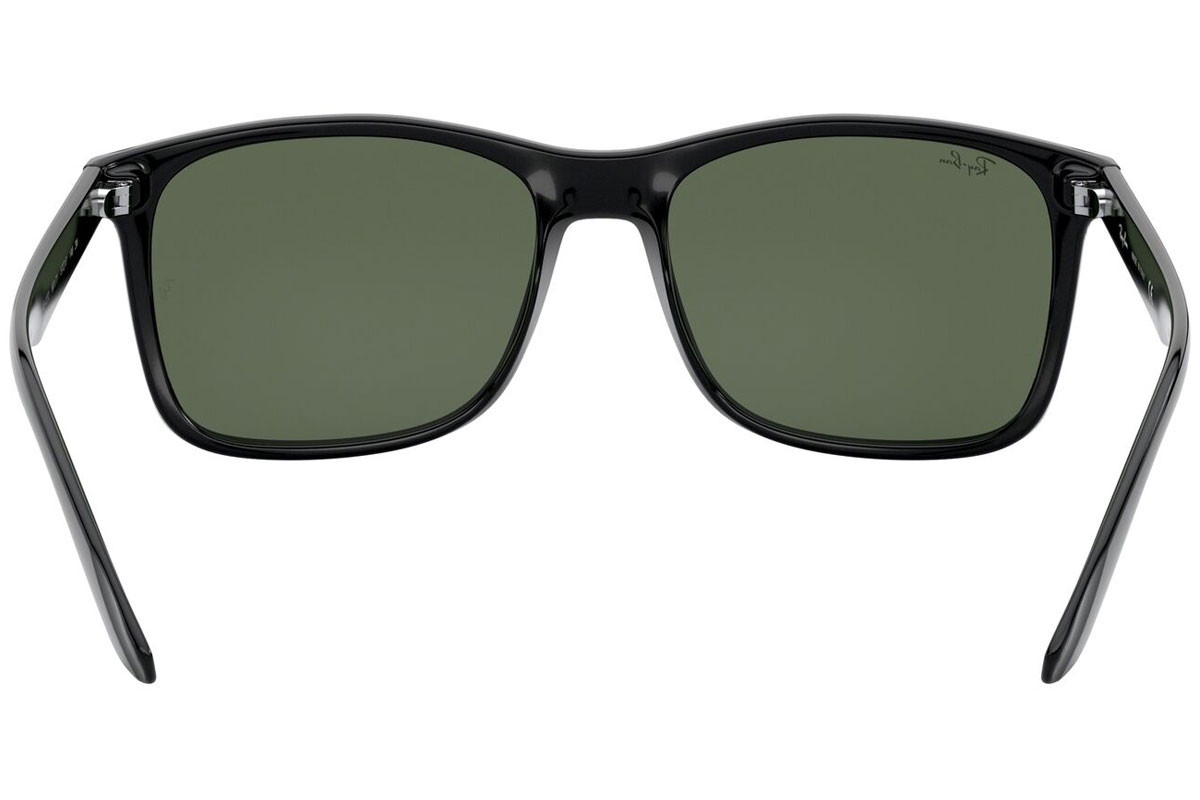 Ray-Ban RB4232 601/71. Frame color: Črna, Lens color: Siva, Frame shape: Kvadratna