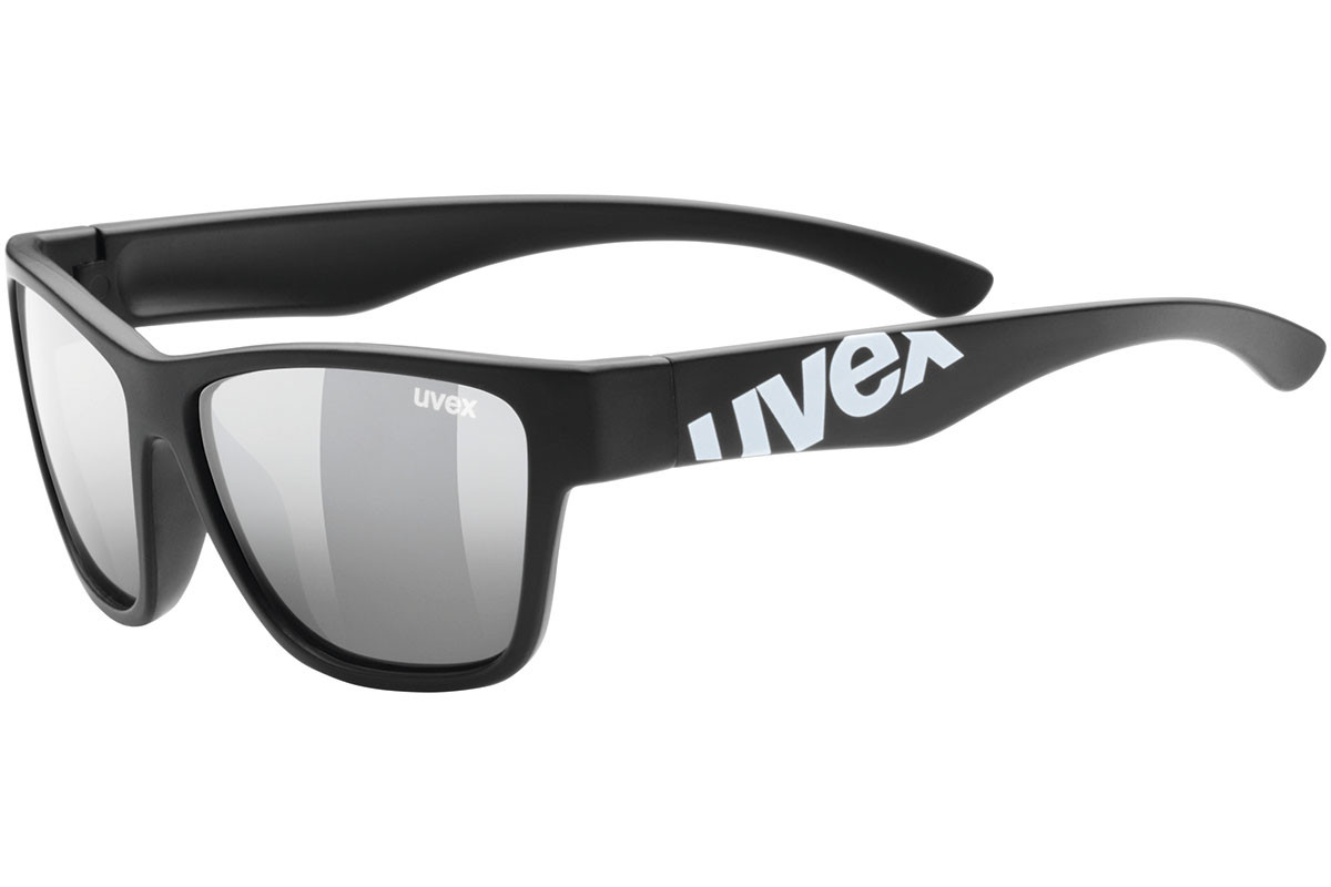 uvex sportstyle 508 2216. Frame color: Black, Lens color: Grey, Frame shape: Squared