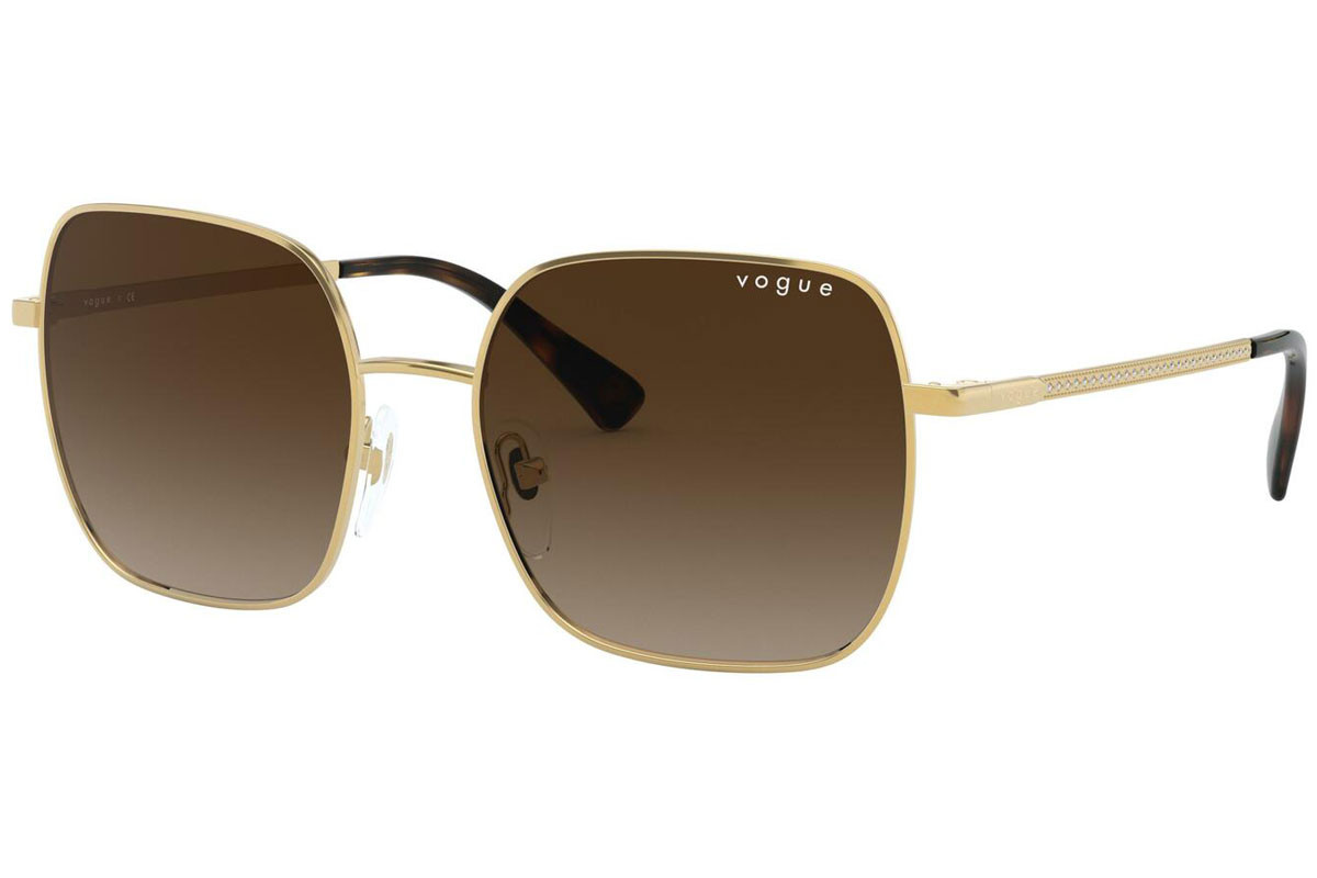 Vogue VO4175SB 280/13. Frame color: Gold, Lens color: Braun, Frame shape: Quadratisch