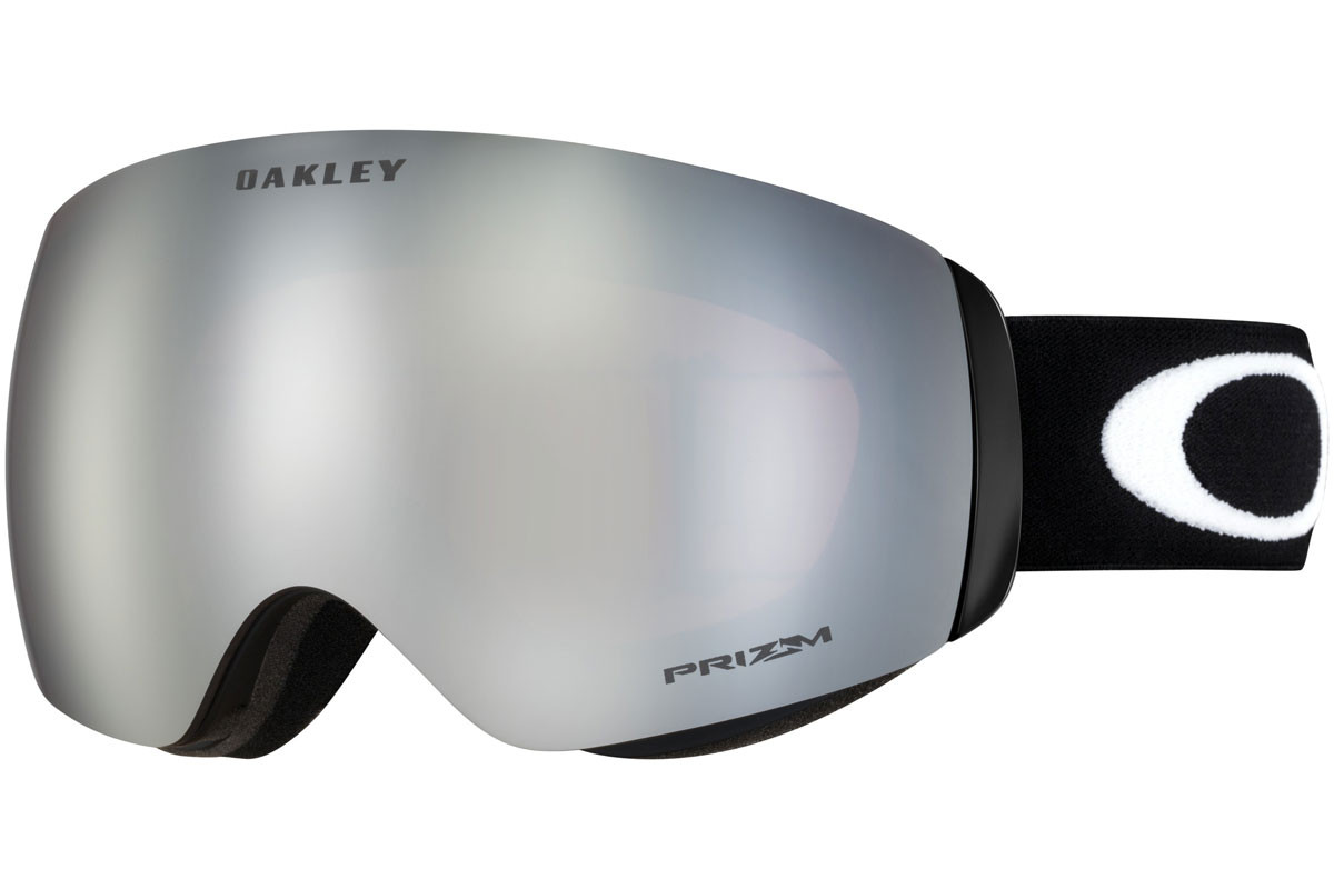 Oakley Flight Deck XM OO7064-21 PRIZM. Frame color: Črna, Lens color: Siva, Frame shape: Enojna leča