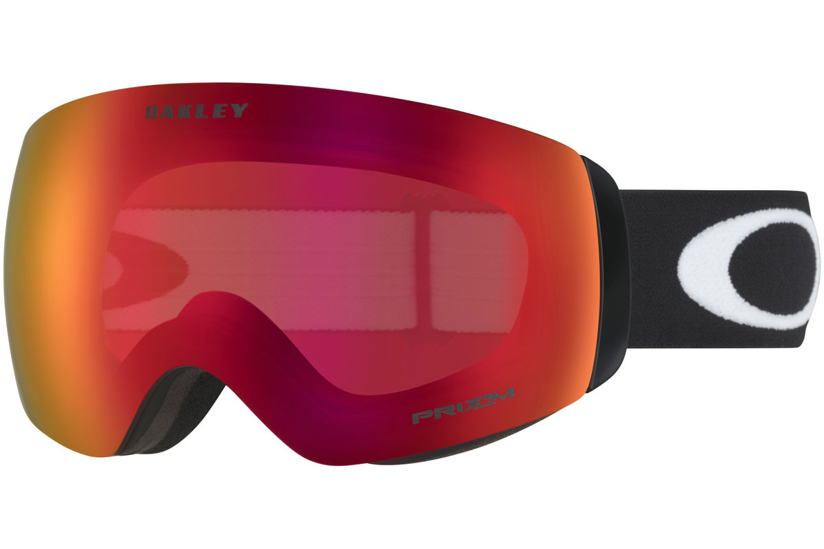 Oakley Flight Deck XM OO7064-39 PRIZM. Frame color: Schwarz, Lens color: Rot, Frame shape: Monoscheibe