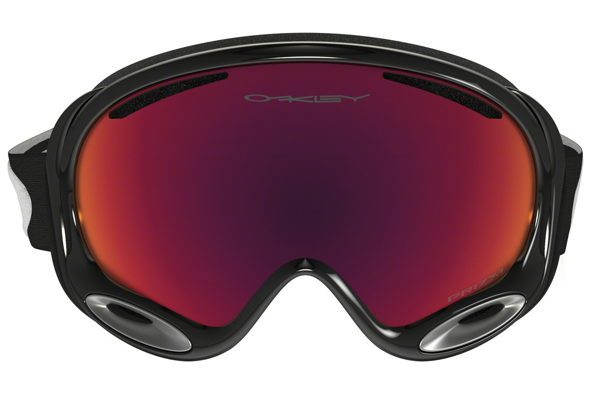 Oakley A-Frame 2.0 OO7044-49 PRIZM. Frame color: Black, Lens color: Red, Frame shape: Single Lens
