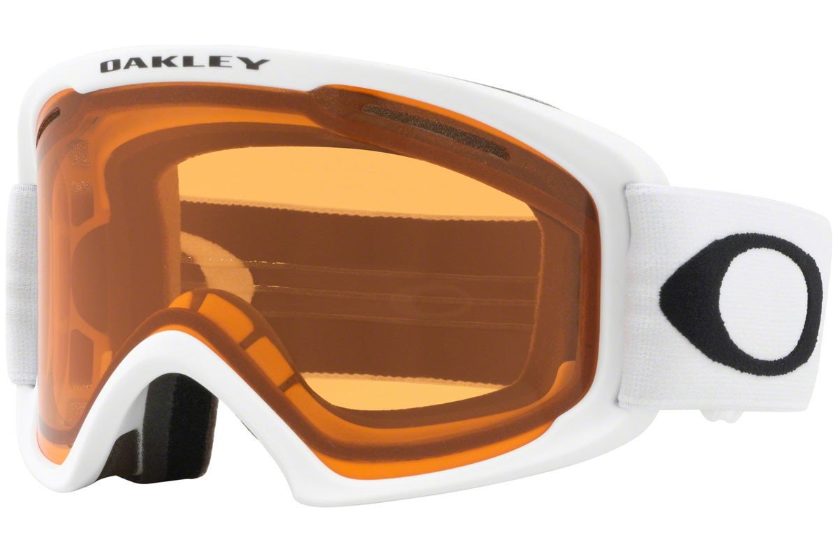 Oakley O2 XL OO7045-47. Frame color: Weiß, Lens color: Orange, Frame shape: Monoscheibe